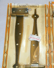 """NEW ACORN COLONIAL 7"""" CABINET STRAP OFFSET COPPER RUSTIC CABINET HARDWARE NOS"""