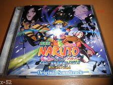 NARUTO Ninja Clash In the Land of Snow Movie SOUNDTRACK cd OST