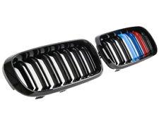 BMW F15 F85 X5 Kidney Grill Grille Grills Gloss Black Tri Colour 2014 ONWARDS
