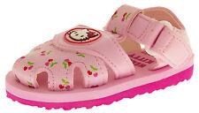 Bebé Niñas Niños Sandalias De Hello Kitty Rosas Blanco Playa Verano Zapatos Talla 4 5 6