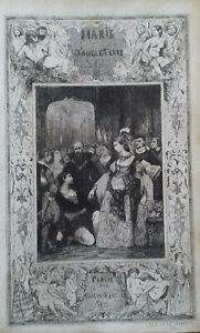 Victor HUGO - Marie Tudor - Renduel 1833 EO