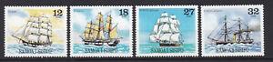 Samoa, Mi.Nr.446-49 (Segelschiffe), postfrisch MNH