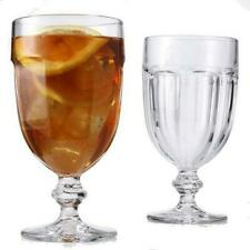 Libbey Glass 4 Gibraltar Clear 16oz Water Ice Tea Goblets #5252