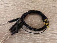 """SMD LED Modellbahn Miniaturbeleuchtung 5 Stück """"warm-weiss """""""