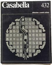 CASABELLA 432/1978 dir.T.MALDONADO cover F.RANZINI - L.SEMERANI G.SAMONA'