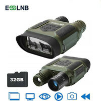 "7X31 Digital Night Vision Binocular Scope with 2"" TFT LCD and 32GB TF Card"