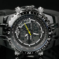 INFANTRY MENS LCD DIGITAL QUARTZ WRIST WATCH CHRONOGRAPH ARMY SPORTS WATERPROOF