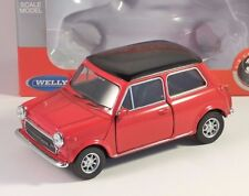 MINI COOPER 1300 in Red 1/38 scale model by WELLY