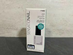 SENSATIONAIL - Growth Formula Gel Nail Treatment - 0.25oz - New In Box #KJ