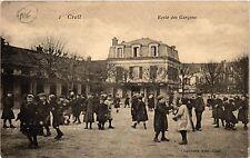 CPA Creil Ecole des Garcons (259861)
