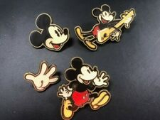 New Target Walt Disney Enamel 4 Pin Set Mickey Mouse Junk Food