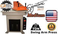 NEW!! CJRTec 27 Ton Swing Arm Clicker Press Medium Signature Series 2017