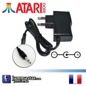 Alimentation console Atari 2600 - Adaptateur - Power Supply