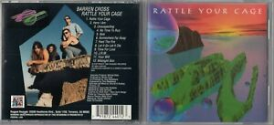 Barren Cross – Rattle Your Cage (1994) Rugged Records RARE
