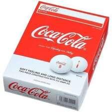 Coca-Cola Golf ball  White One dozen 12piece from Japan
