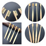 10PCS Bamboo Handle Toothbrush Environmentally Eco Vegan Friendly Tooth Brush