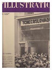 L'ILLUSTRATION 5012 25/03/1939 50 ANS INSTITUT PASTEUR