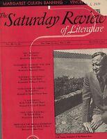 Saturday Review of Literature July 1 1939 Carl Carmer Howard Fast