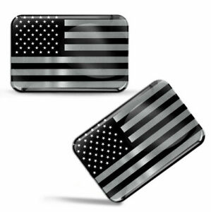 3D Silicone United States Of America National Flag USA Stickers American Decals