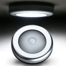 6LED Motion Sensor Cabinet Light Magnetic Closet Cordless Night Light Self-Stick
