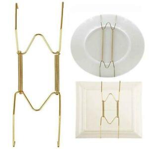 Veranda Artwork Platten Kleiderbügel Teller Federhalter Haken Unsichtbarer C8H8
