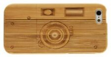 iPhone SE 5/5S Bamboo Wood Case ( Camera Effect Engraving ) 100% Genuine Wood✔️