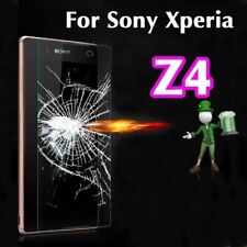 2 x 100% Genuine Tempered Glass 9H Screen Protector For Sony Xperia Z3 Plus / Z4