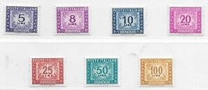Italy Better Airmails MNH 1945 / 56 + P.Dues, MNH, Min Cat €270, 3 Pages (G13)