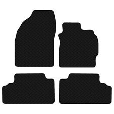 Toyota Auris 2007 to 2013 Black Floor Rubber Tailored Car Mats 3mm 4pc Set