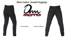 Ladies Motorcycle Jeggings Reinforced Aramid protective Lining CE Armour SALE40%