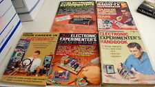 Rare Electronic Experiment Career Publications  5 Issues    Ships Worldwide