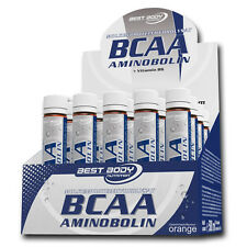 (49,76�'�/Ltr.) Best Body Nutrition BCAA Aminobolin 20 Ampullen á 25 ml BCAAs