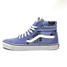 Vans Sk8 Hi Logo Mix Lavender Lustre Men's 9.5 Women's 11 Skate Shoes Purple New