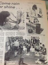67-3 Ephemera 1974 Article Northdown Primary School Margate Weather C Coleman