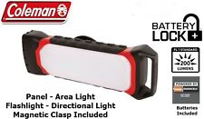 Coleman 2 in 1 Camping Outdoor Lightweight Battery Lock Panel Light Torch