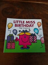 Little Miss Birthday by Roger Hargreaves with added Sparkle