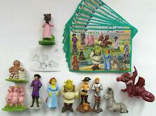 """Shrek der Dritte Kinder Joy  """" Komplettsatz """" mit 10 deutschen BPZ"""