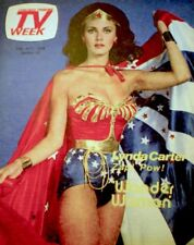 TV Guide 1978 Wonder Woman Lynda Carter Regional TV Week NM/MT COA Rare