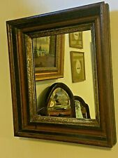 Gorgeous English Antique oak wood Sculptured English Mirror C.1820
