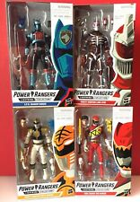 HASBRO Power Rangers Wave 1 Lightning Collection - LOT of 4 Sealed Figures