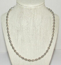 Carolyn Pollack Relios Sterling Silver Southwestern Bead Necklace Petite Dainty