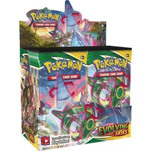 Evolving Skies Booster Box 36 ct. Pokemon TCG NEW SEALED PRESALE SHIPS 8/27