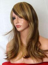 Brown Blonde Wig Fashion medium real natural wig Lady Ladies Full Hair Wig L-25