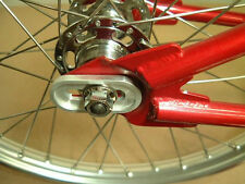 "HELIX BMX DROPOUT SAVERS -Fits CRO-MO STEEL BMX & FIXED GEAR Frame w/ 3/8"" Axles"