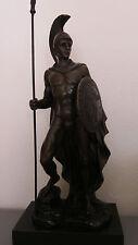 "Roman Collection Roman Warrior Soldier Statue. Bronze 13.25"". Perfect Condition"