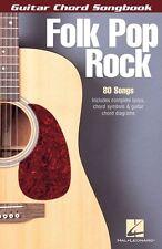 Folk Pop Rock Sheet Music Guitar Chord Songbook 6 inch x 9 inch Guitar 000699651