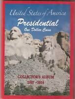 BRILLIANT UNCIRCULATED COINS PRESIDENTIAL GOLDEN DOLLAR COLLECTION 2007 to DATE
