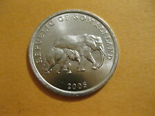 "2005 Somaliland coin, ""Elephant With Baby"", Uncirculated beauty"