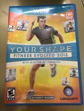 Your Shape: Fitness Evolved 2013 (Nintendo Wii U, 2012)