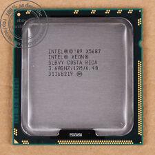 Intel Xeon X5687 - 3.6 GHz (AT80614005919AB) LGA 1366 SLBVY CPU 6.4 GT/s